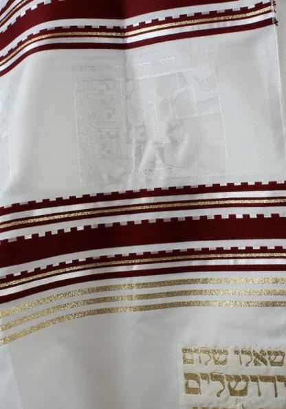 Gabe - Men's Traditional Rayon Tallit-715