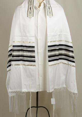 Gideon - Men's Traditional Cotton and Silk Tallit-0