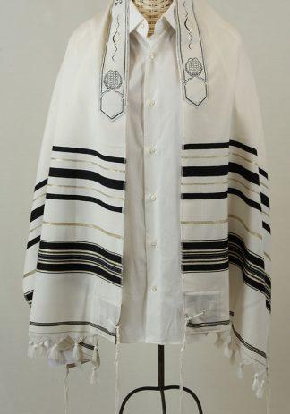 Gil - Men's Traditional Wool Tallit-0