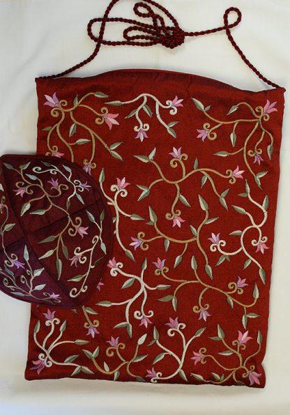 Ginger - Women's Handmade Silk Tallit-987