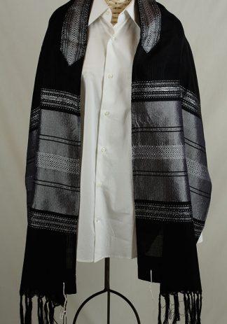 Glenn - Men's Handmade Woven Silk Tallit-0