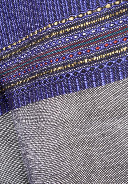 Hiram - Men's Handmade Woven Silk Tallit-374
