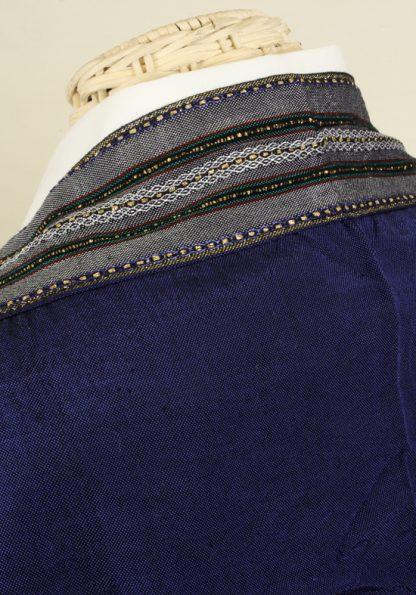 Hiram - Men's Handmade Woven Silk Tallit-377