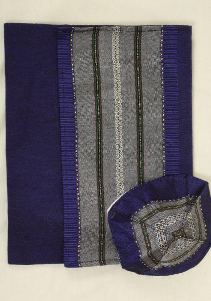 Hiram - Men's Handmade Woven Silk Tallit-376