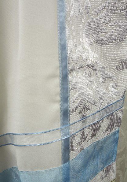 Madalyn - Women's Handmade Semi Sheer Organza Tallit-1104