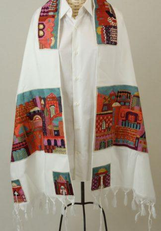 Matthiew - Unisex Handmade Cotton Tallit-0