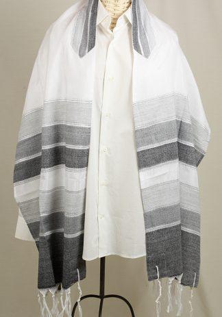 Tamir - Handmade Men's Woven Silk Tallit-0