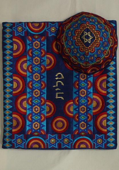 Peyton - Men's Handmade Silk Tallit-21