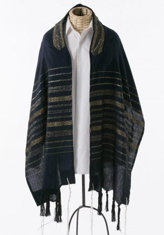 Brett - Men's Handmade Woven Silk Tallit-0