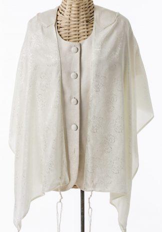 Cindy - Women's Handmade Silk Tallit-0