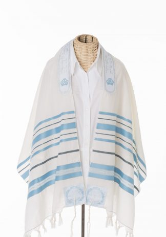 Drew - Unisex Traditional Wool Tallit-0