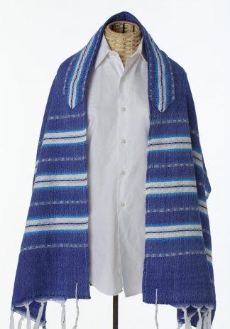 Perry - Men's Handmade Woven Cotton Tallit-0