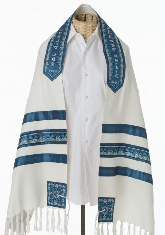 Hunter - Unisex Handmade Cotton Tallit-0