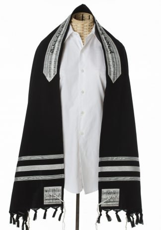 Evan - Men's Handmade Wool Tallit-0