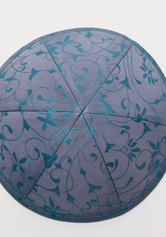 Teal and Lavender Brocade-0