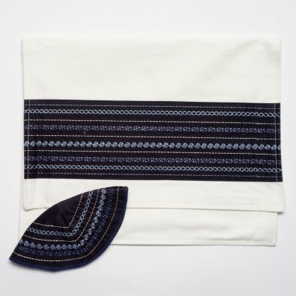 Austin - Men's Handmade Viscose Tallit-2345