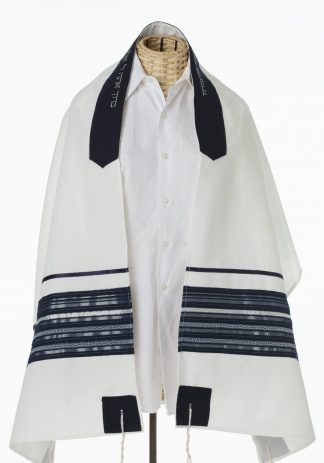 Chad - Men's Handmade Viscose Tallit-0