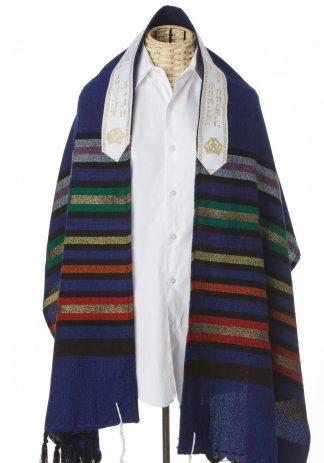 Elias - Men's Handmade Wool Tallit-0