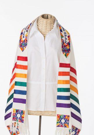 Cary - Unisex Handmade Silk Tallit-0