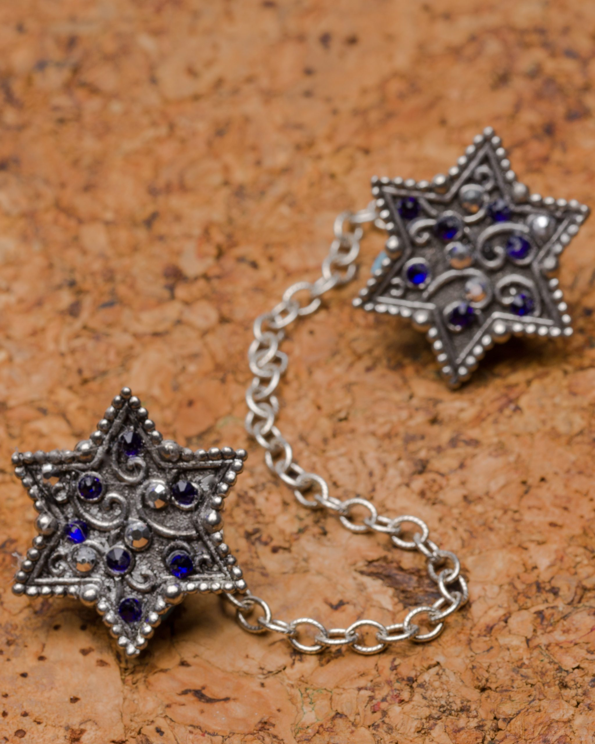 Cobalt and Silver Star-0