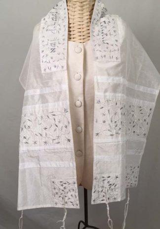 Brynn - Women's Handmade Silk Tallit-0