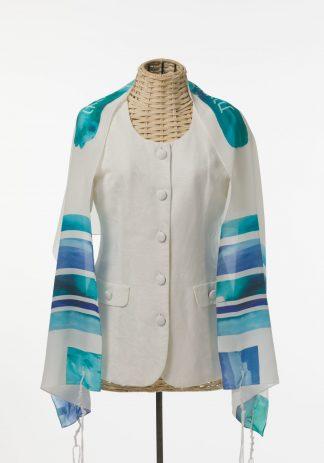 Dakota - Women's Handmade Silk Tallit-0