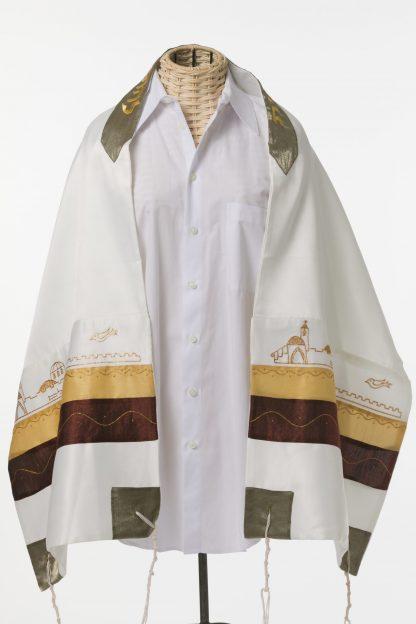 Misha - Unisex Handmade Silk Tallit-0