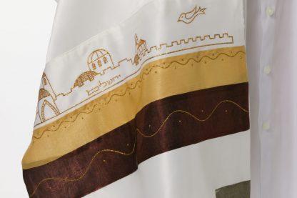 Misha - Unisex Handmade Silk Tallit-3111