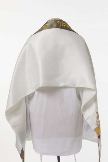 Misha - Unisex Handmade Silk Tallit-3105