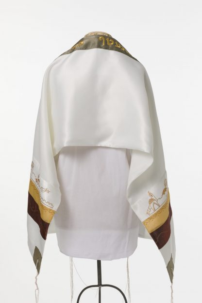 Misha - Unisex Handmade Silk Tallit-3108