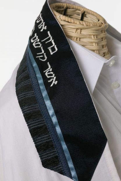 Darren - Men's Handmade Wool Tallit-3125