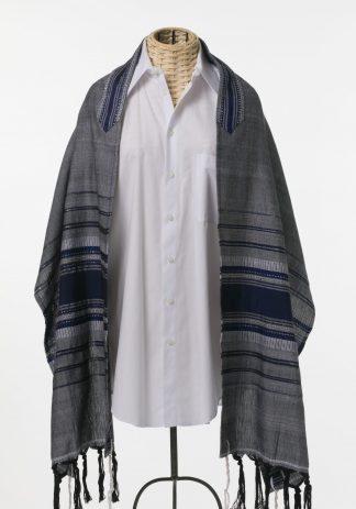 Jessie - Men's Handmade Woven Silk Tallit-0