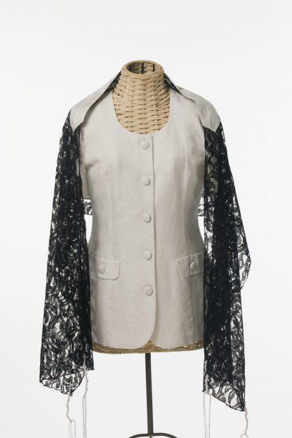 Lena - Women' s Handmade Rayon Blend Lace Tallit-2965