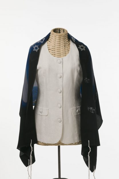Penny - Women's Handmade Silk Tallit-3145