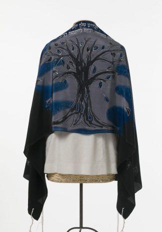 Penny - Women's Handmade Silk Tallit-0