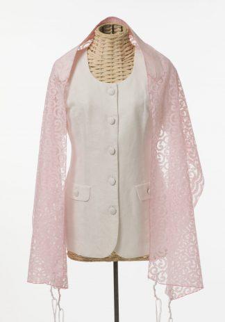 Eloise - Women's Handmade Rayon Blend Tallit-0