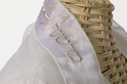 Harper - Women's Handmade Sheer Organza Tallit-3017