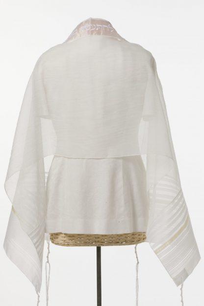 Michelle - Women's Handmade Sheer Organza Tallit-3026