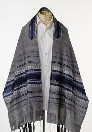 Bryson - Handmade Men's Woven Silk Tallit-0