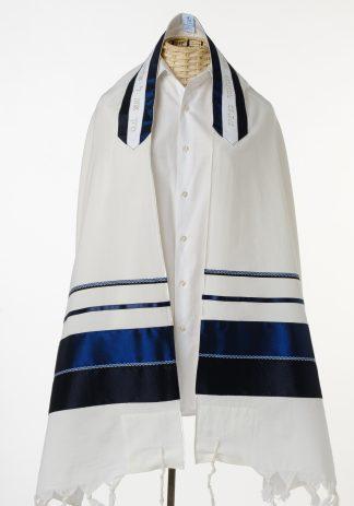Akiva - Men's Handmade Wool Tallit-0