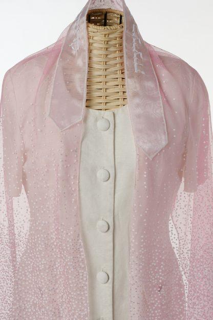 Victoria - Women's Handmade Sheer Organza Tallit-3160