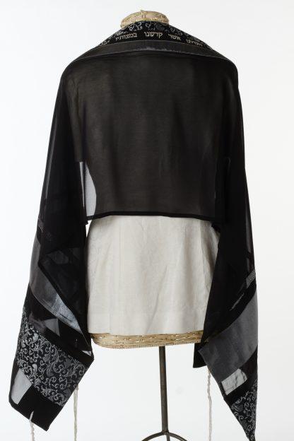 Blair - Women's Handmade Sheer Silk Tallit-3314