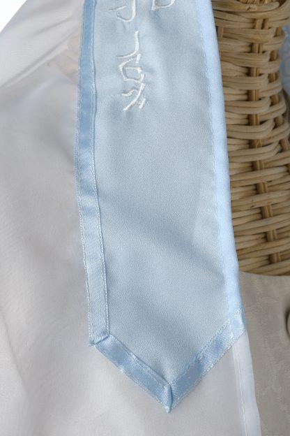 Shana - Women's Handmade Sheer Organza Tallit-3291