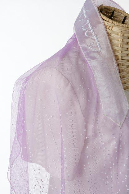 Cora - Women's Handmade Sheer Organza Tallit-3274