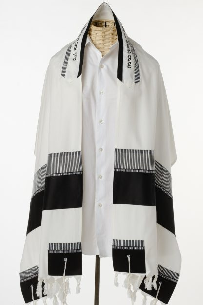 Cody - Men's Handmade Viscose Tallit-0