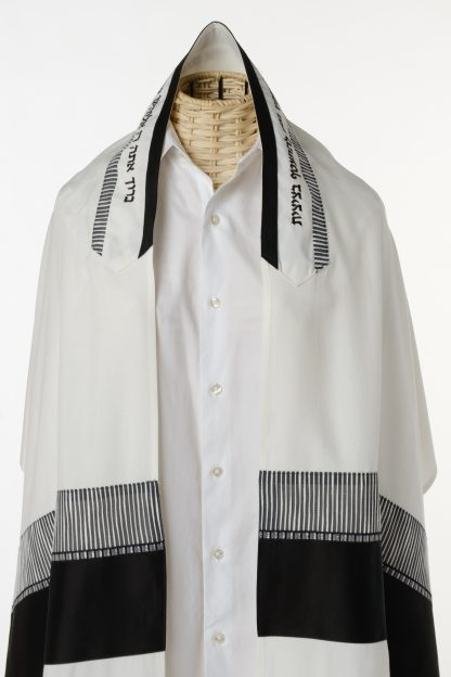 Cody - Men's Handmade Viscose Tallit-3610