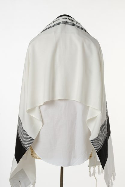 Cody - Men's Handmade Viscose Tallit-3617