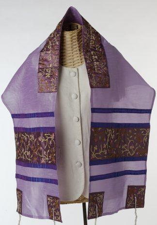 Evelyn - Women's Handmade Silk Tallit-0