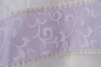 Rachel - Women's Handmade Sheer Organza Tallit-3334