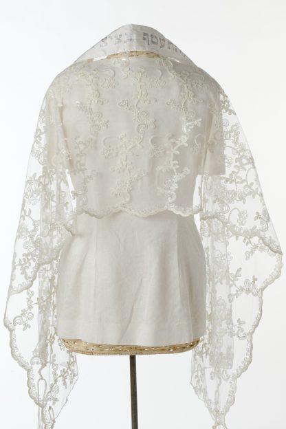 Dior - Women's Handmade Sheer Silk Tallit-3386